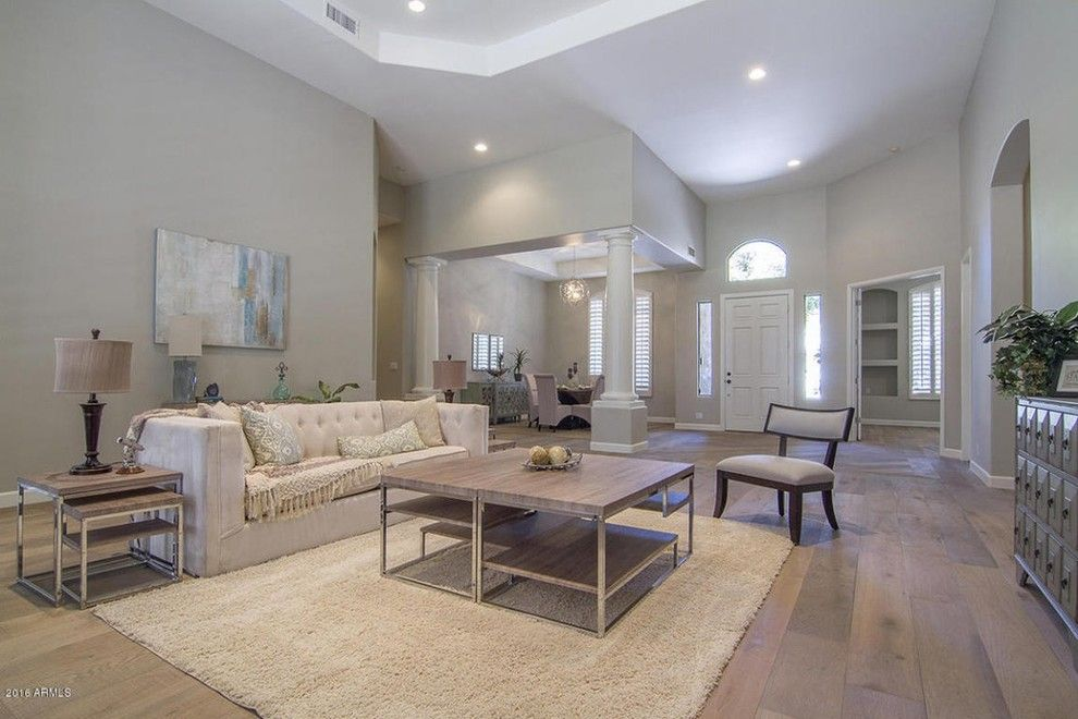 Craigslist Phoenix Furniture for a Transitional Spaces with a Phoenix and Transitional Home Phoenix, Az by Staging Furniture/lavish Interiors