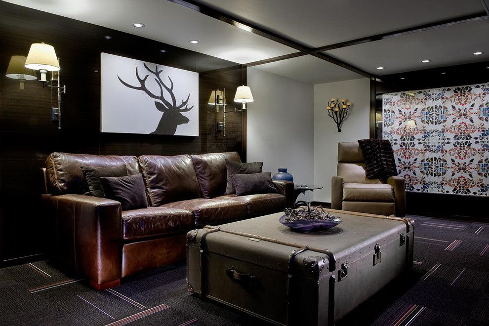 Craigslist Pittsburgh Furniture for a Contemporary Basement with a Basement and Triple Award Winning Mt. Lebanon Remodel is a Phoenix Risen From the Ashes by Master Remodelers Inc.
