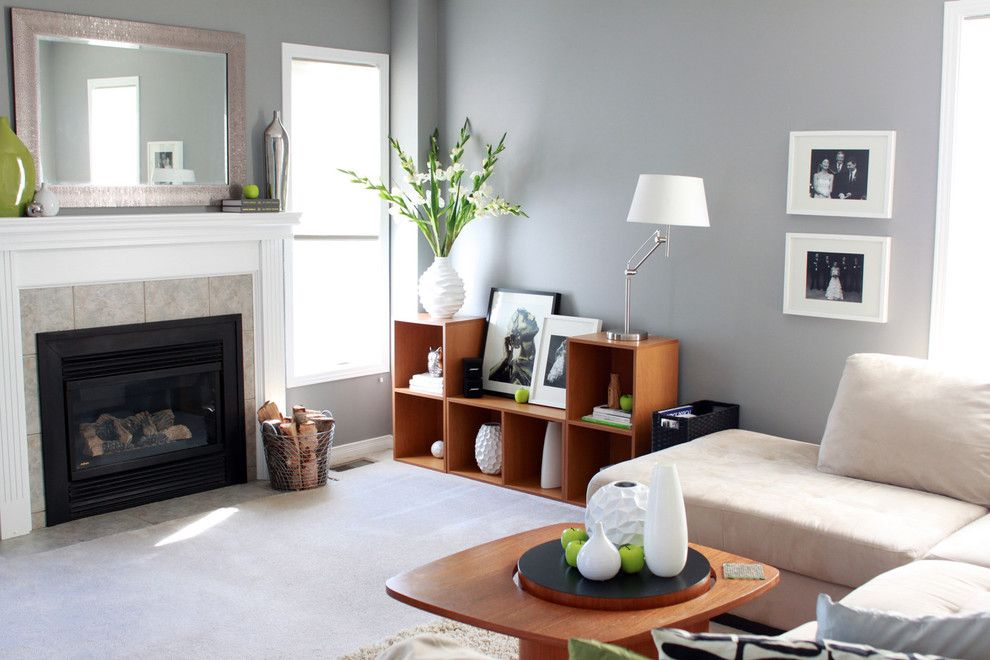 Craigslist Pittsburgh Furniture for a Contemporary Living Room with a Family Room and Personal Home Tour by Leclair Decor