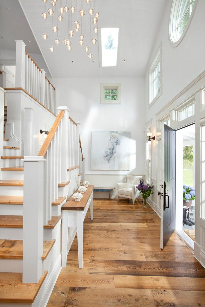 Craigslist Pittsburgh Furniture for a Traditional Entry with a Custom Millwork and Furniture and Waterfront Estate by Jodi Foster Design + Planning