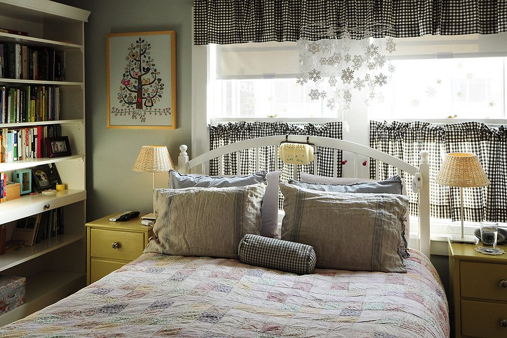 Craigslist Portland Furniture for a Eclectic Bedroom with a Eclectic and Master Bedroom by Julie Smith