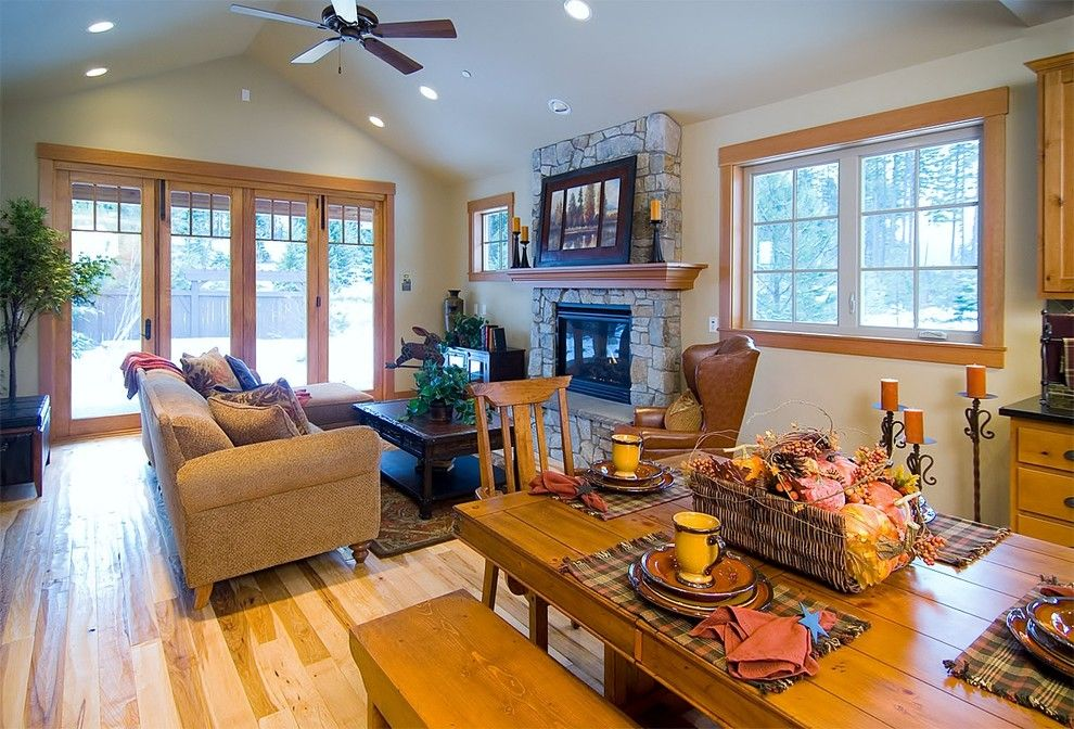Craigslist Seattle Furniture for a Traditional Living Room with a Furniture and Custom Cabin  Suncadia by Calista Interiors