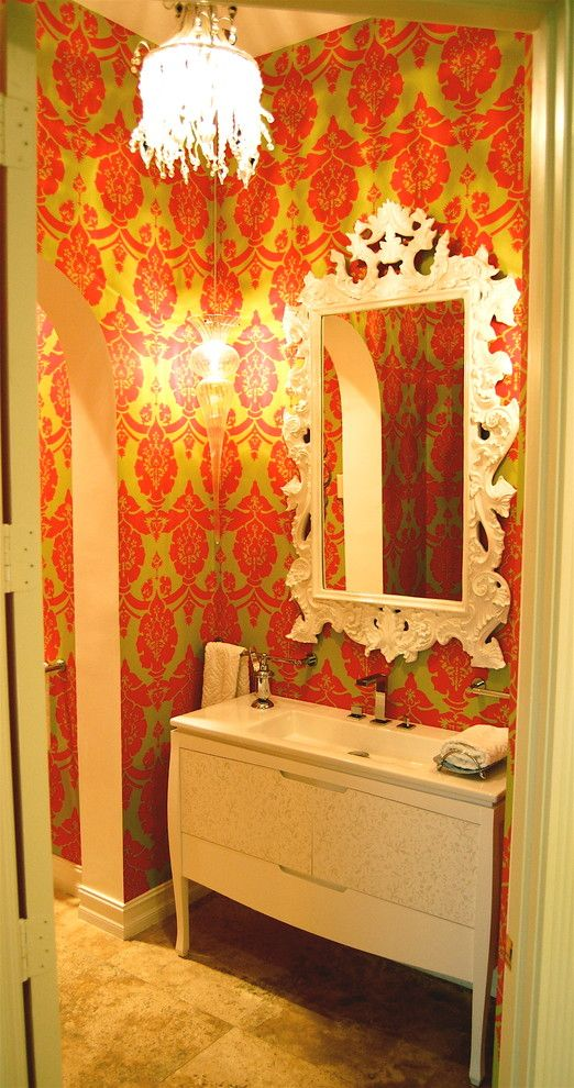 Craigslist South Florida Furniture for a Modern Bathroom with a Vanity and South Florida Family Estate by Greeson & Fast Design
