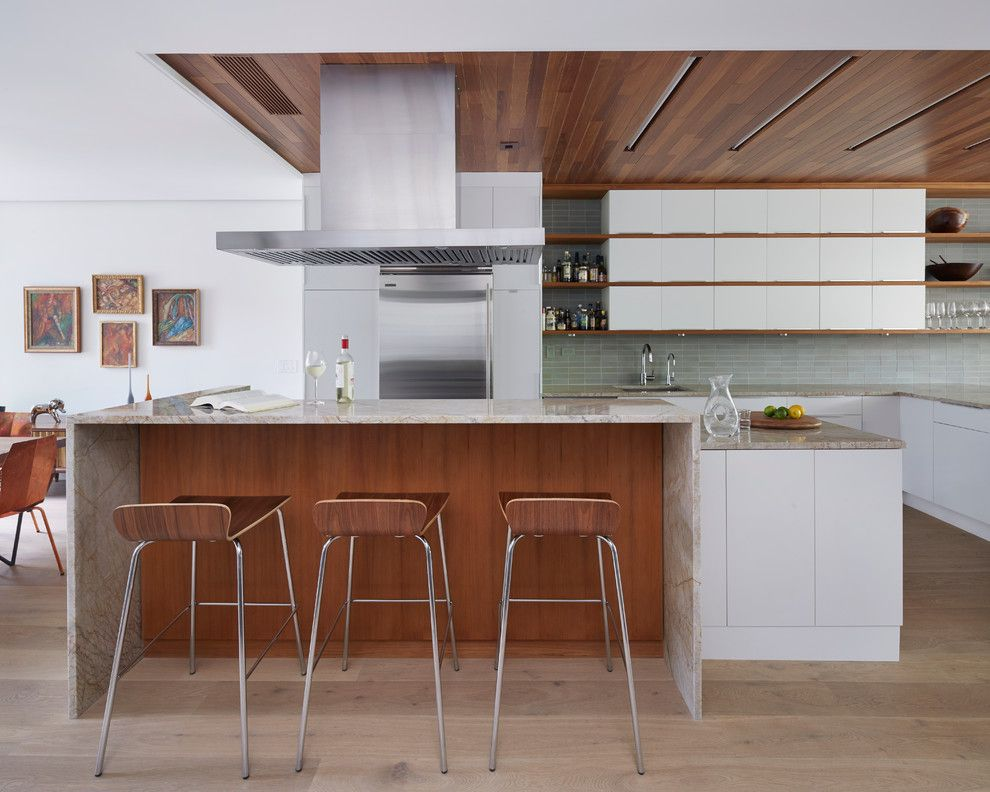 Crate and Barrel Customer Service for a Contemporary Kitchen with a Quartzite and Prospect Heights Townhouse by Etelamaki Architecture