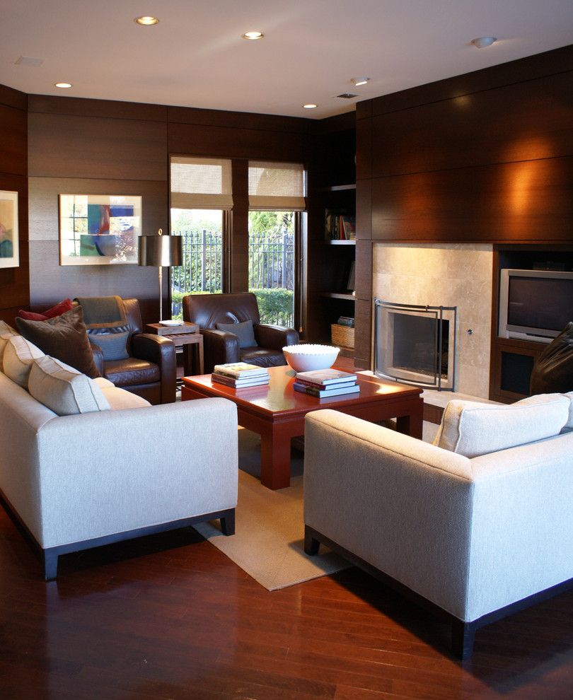 Crate and Barrel Customer Service for a Contemporary Living Room with a Contemporary and Living Room by Slic Interiors
