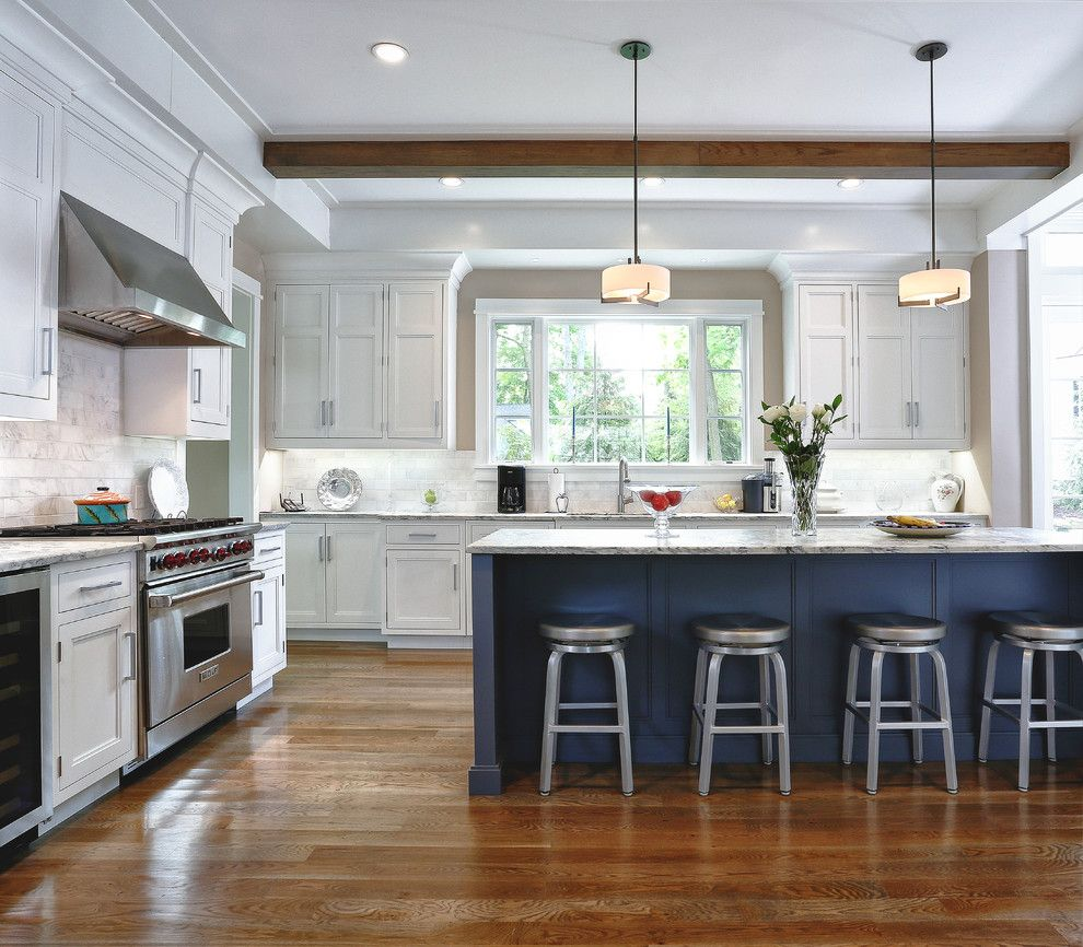 Crate and Barrel Customer Service for a Traditional Kitchen with a White Kitchen and Hyatt Lane   Westport, Ct by Vita Design Group
