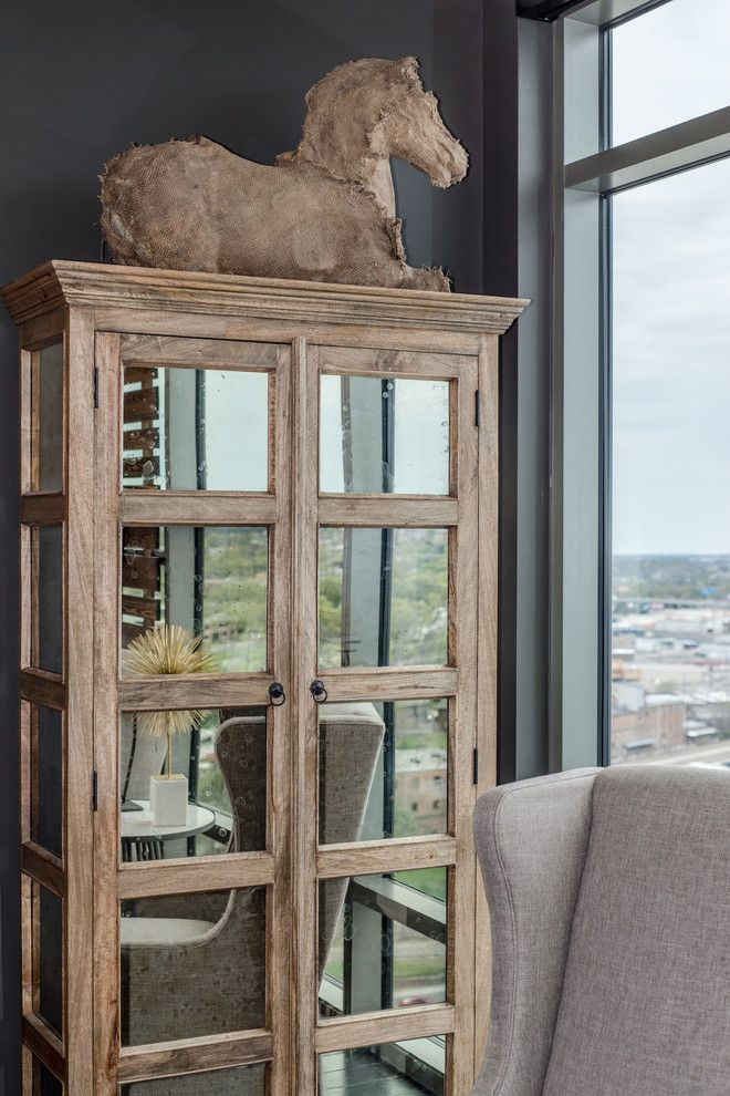 Crazy Horse Nashville for a Contemporary Spaces with a Burlap Horse and Twelve Twelve Condo by Bynum Design