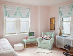 Cresta Bella for a Eclectic Kids with a Feminine and Philadelphia Penthouse by Caitlin Wilson Design