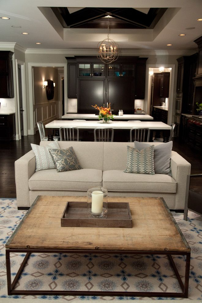 Crown Point Townhomes for a Rustic Living Room with a Neutral Colors and Oakley Home Builder by Oakley Home Builders