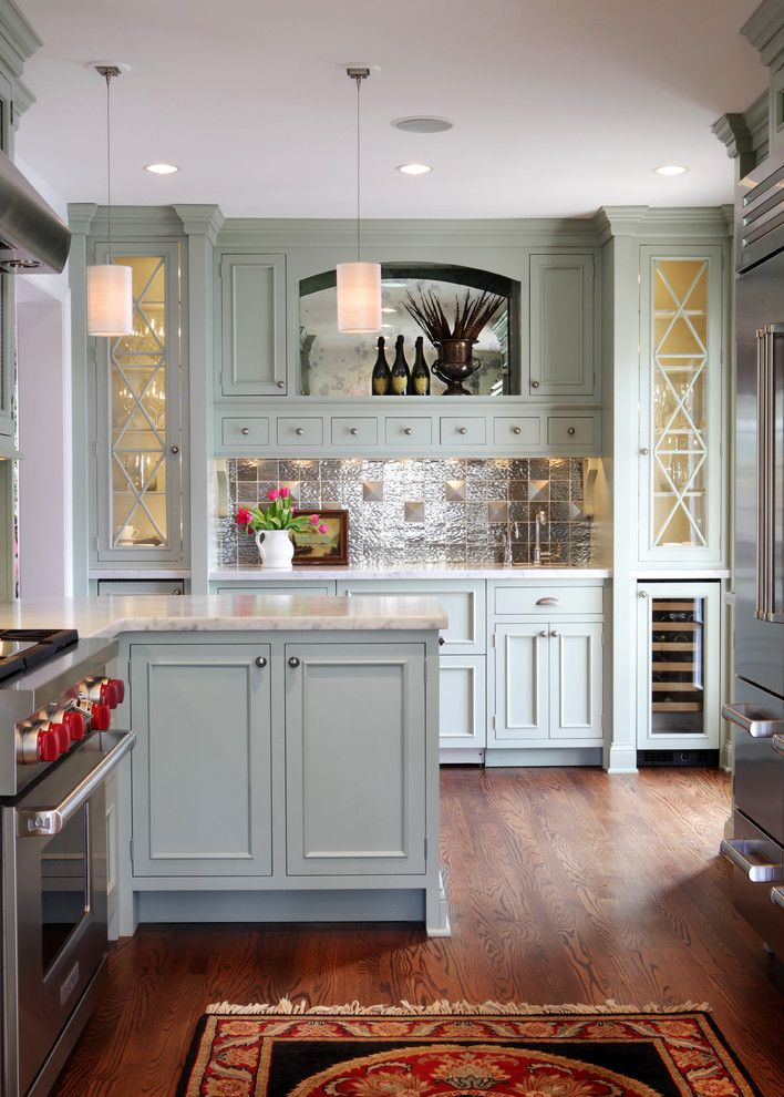 Crown Point Townhomes for a Traditional Kitchen with a Gray Cabinetry and Jenny Rausch, C.k.d by Karr Bick Kitchen and Bath