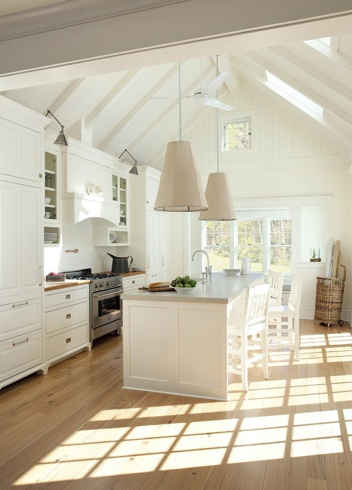 Cudd Energy Services for a Beach Style Kitchen with a Beach Style and Concord Green Home by Zeroenergy Design