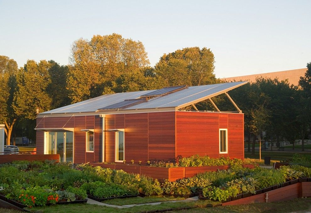 Cudd Energy Services for a Modern Exterior with a Modern and Solar Decathlon House by Zeroenergy Design
