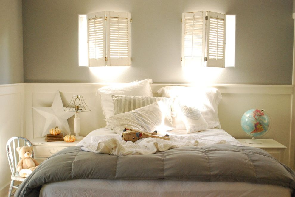 Cudd Energy Services for a Shabby Chic Style Kids with a White Bedding and Dustins Bedroom by Dustylu