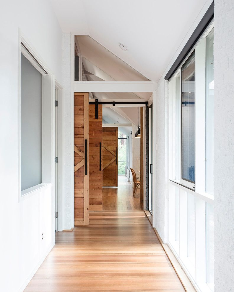 Culver City Theater for a Farmhouse Hall with a Natural Light and Mt Tooblewong, Upper Yarra Valley Vic by Maxa Design