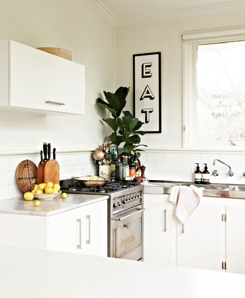Cutco Knife Sharpening for a Eclectic Kitchen with a Vintage and Newtown Home by Space Grace & Style