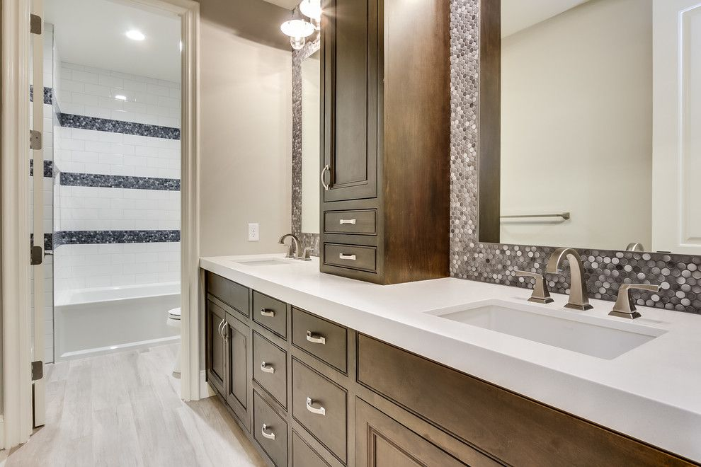 Cutigers for a  Bathroom with a Luxury Home Builder and Staker by Starwood Custom Homes