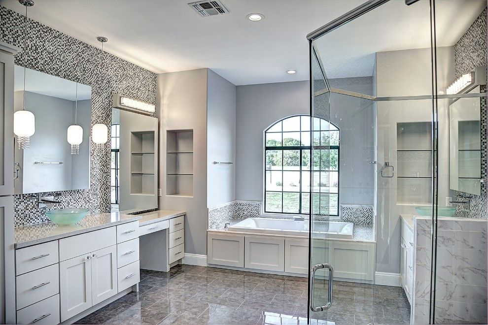 Cutigers for a  Bathroom with a New Home Builder and Davis by Starwood Custom Homes
