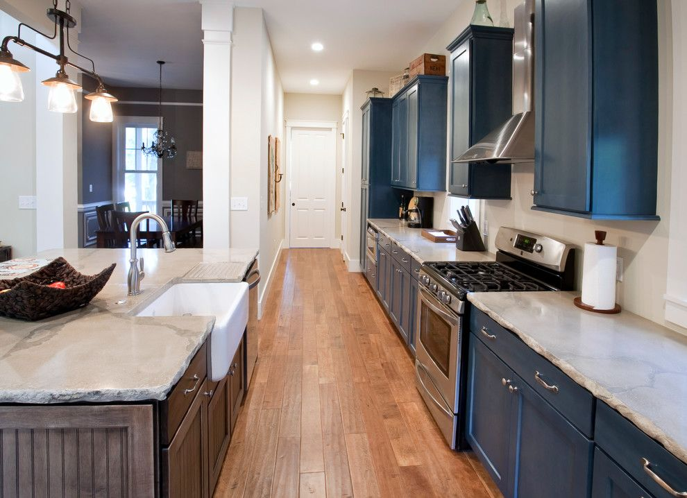 Cutting Edge Granite for a Traditional Kitchen with a Concrete Counter Top and Mt P Residence by Eco Designer Concrete