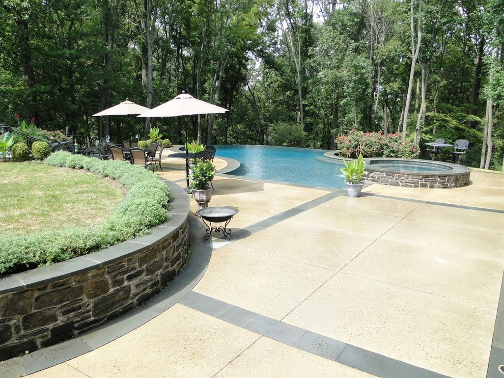 Cvs Media Pa for a Contemporary Pool with a Light Blue Pool Water and Infinity Edge Elements   Media, Pa by Armond Aquatech Pools