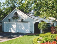 Dads Garage for a Traditional Exterior with a Garage and Multi Car Private Garage by Wallant Architect