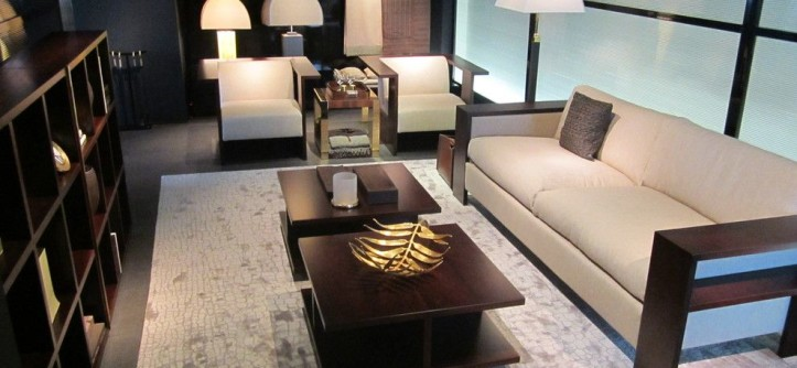 Dancing Goats Coffee for a Contemporary Family Room with a Armani Casa and PRODUCTS by ARMANI / CASA