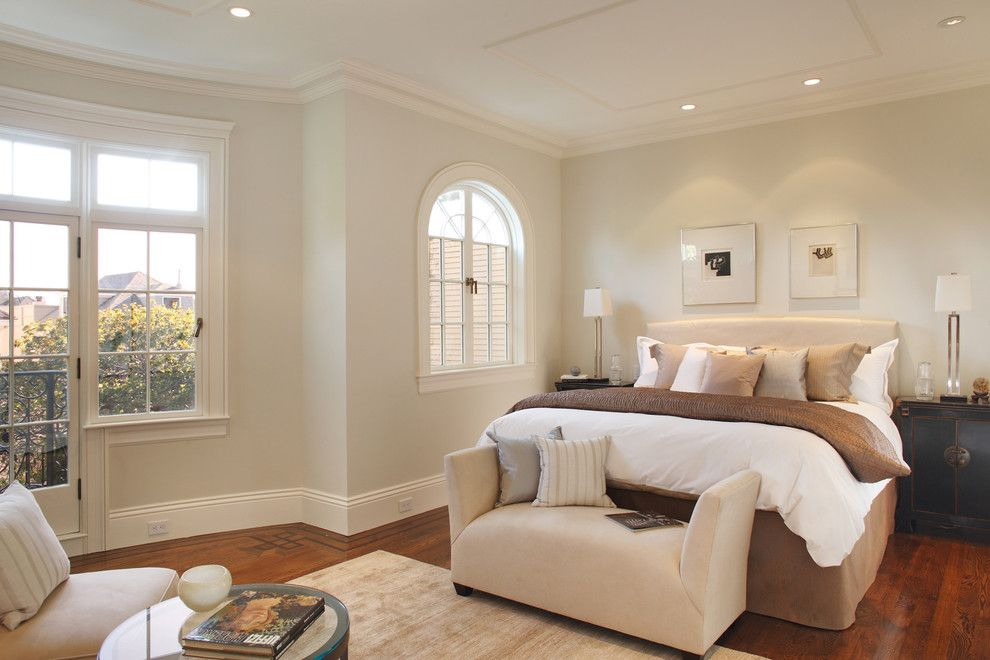 Darkside Window Tinting for a Contemporary Bedroom with a Night Stand and Pacific Heights Home Bedroom by Winder Gibson Architects