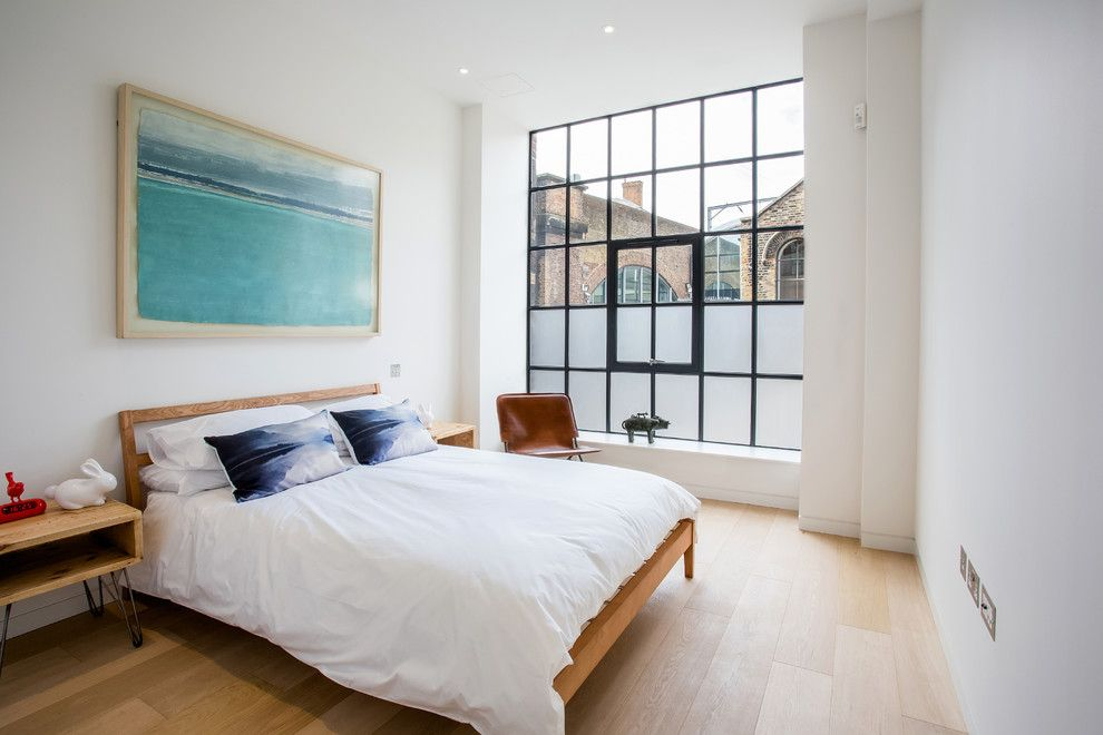 Darkside Window Tinting for a Industrial Bedroom with a Hairpin Legs and Kentish Town 1 by Renata Boruch Photography