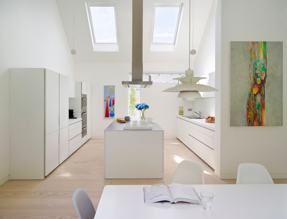 Dc2ny for a Contemporary Kitchen with a Bulthaup and Timber Clad New Development by Bulthaup by Kitchen Architecture