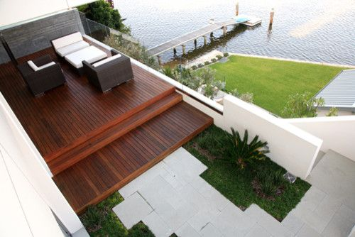 Dedon for a Modern Spaces with a Modern and Sydney Waterfront by Secret Gardens