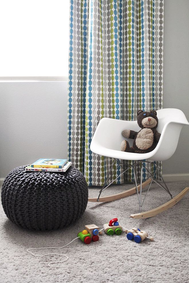 Dees Nursery for a Modern Nursery with a Oeuf and Modern Nursery by Fletcher Rhodes