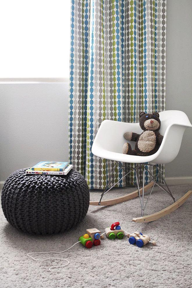 Dees Nursery for a Modern Nursery with a Oeuf and Modern Nursery by Fletcher Rhodes