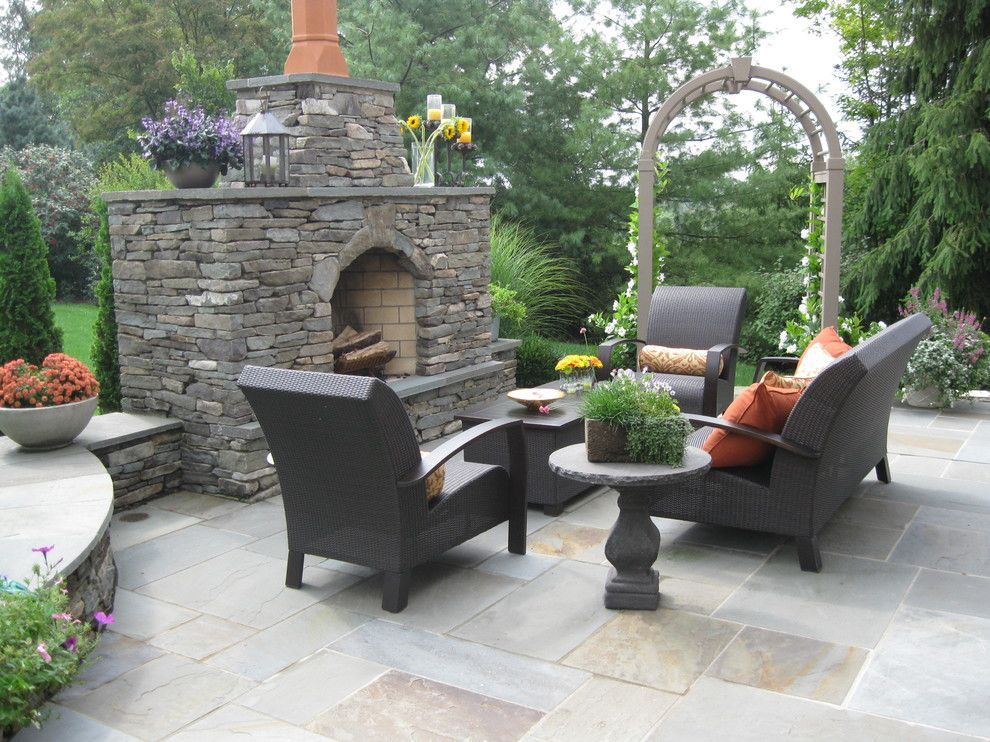 Dees Nursery for a Traditional Patio with a Hardscaping and 2013 Ale: Warm Invitation by Pennsylvania Landscape & Nursery Association