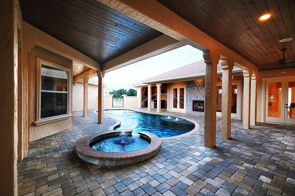 Del Webb Orlando for a Mediterranean Patio with a Inc and Casa Del Aqua by B&a Design Studio, Inc.