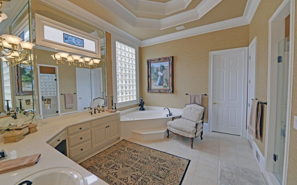 Delaire Country Club for a Craftsman Bathroom with a Country Club and Sugarloaf Country Club Custom Homes by Envision Web