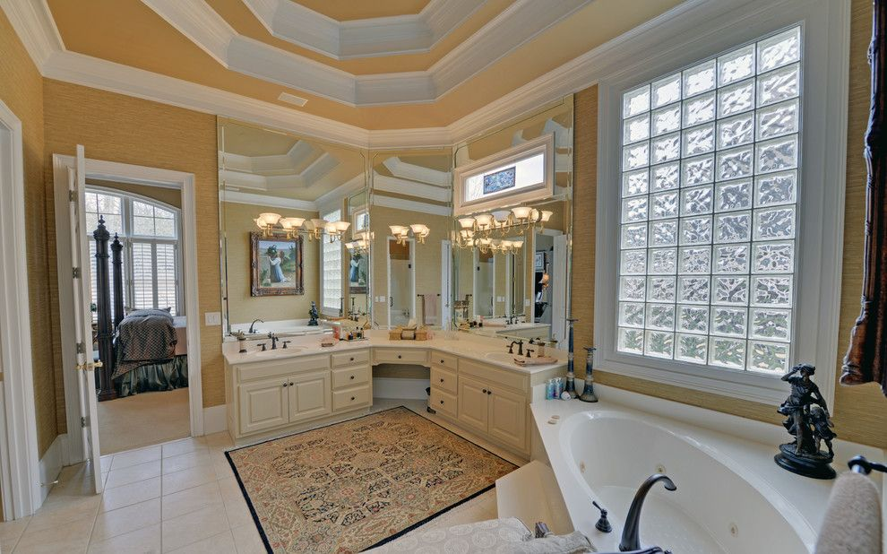 Delaire Country Club for a Craftsman Bathroom with a Custom Homes and Sugarloaf Country Club Custom Homes by Envision Web