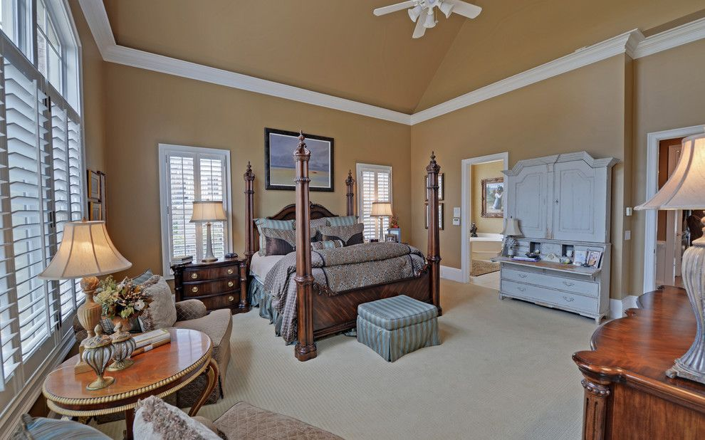 Delaire Country Club for a Craftsman Bedroom with a Sugarloaf and Sugarloaf Country Club Custom Homes by Envision Web