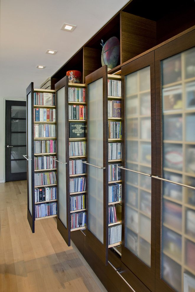 Deseret Digital Media for a Contemporary Closet with a Cd Storage and Tucson Residence Kitchen by John Senhauser Architects