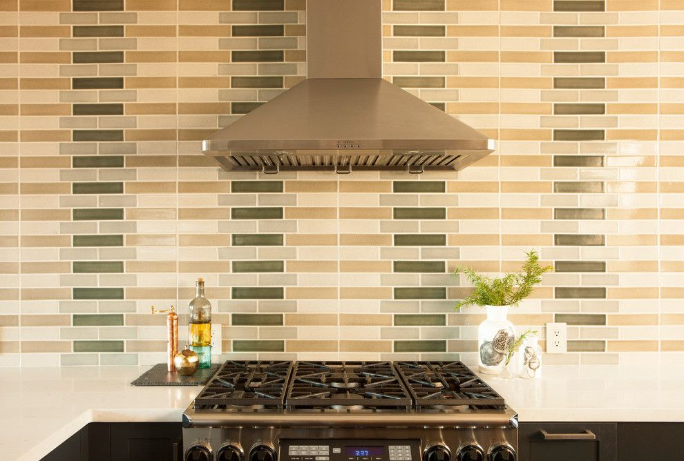 Deseret Digital Media for a Contemporary Kitchen with a Lead Free Glaze Colors and Diamond Heights Home Designed by Loczidesign by Fireclay Tile