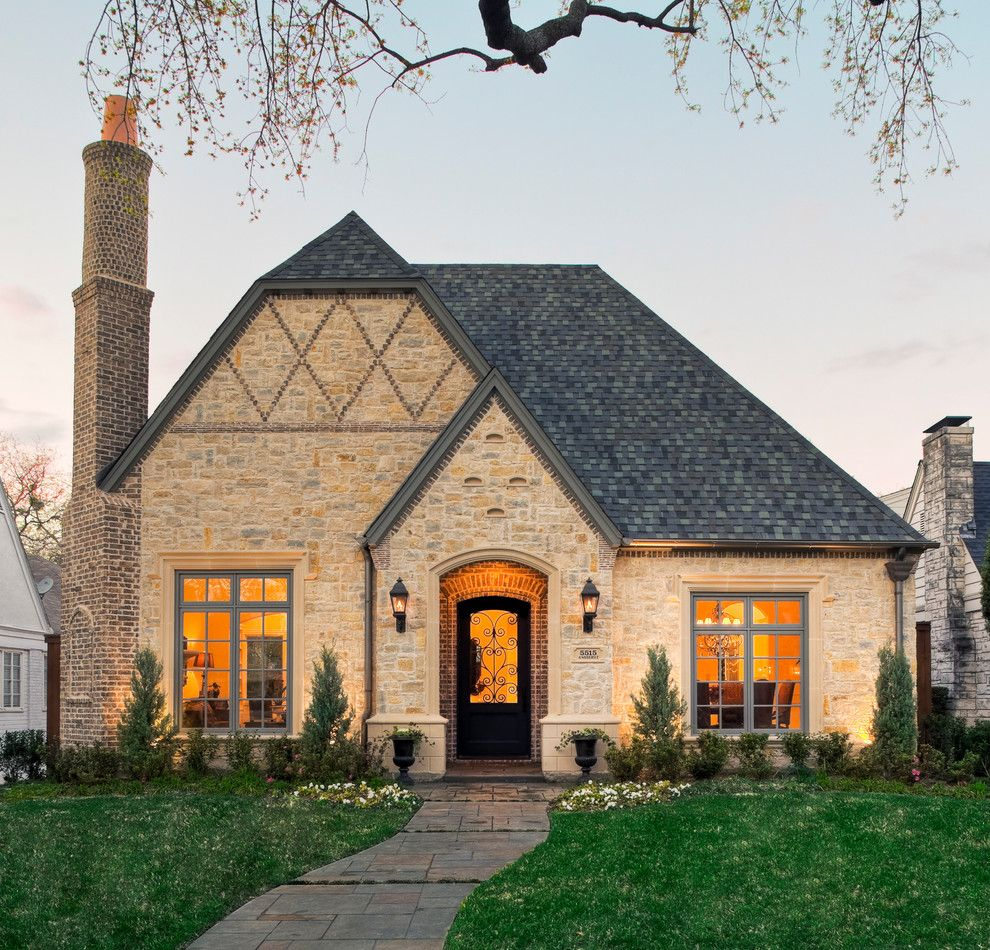 Diamond Residential Mortgage for a Traditional Exterior with a Front Approach and Preston Hollow Traditional by Lro Residential