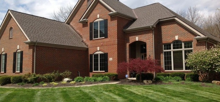 Dimensional Shingles for a Modern Exterior with a Timberline Hd and GAF Timberline HD Mission Brown by Muth & Co. Roofing