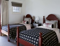 Distressing Furniture for a Traditional Bedroom with a Country Home and BEDROOM by Jody Sokol Design
