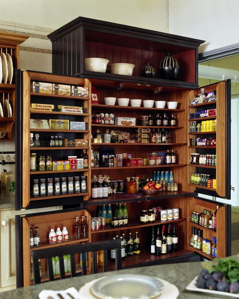 Do I Need a Boxspring for a Traditional Kitchen with a Storage and Showroom Display by Venegas and Company