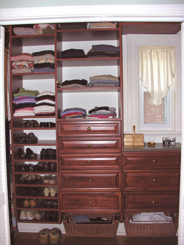 Dogtown St Louis for a Traditional Closet with a Laundry and Utility Organization and Custom Closet Systems by Beyond Storage