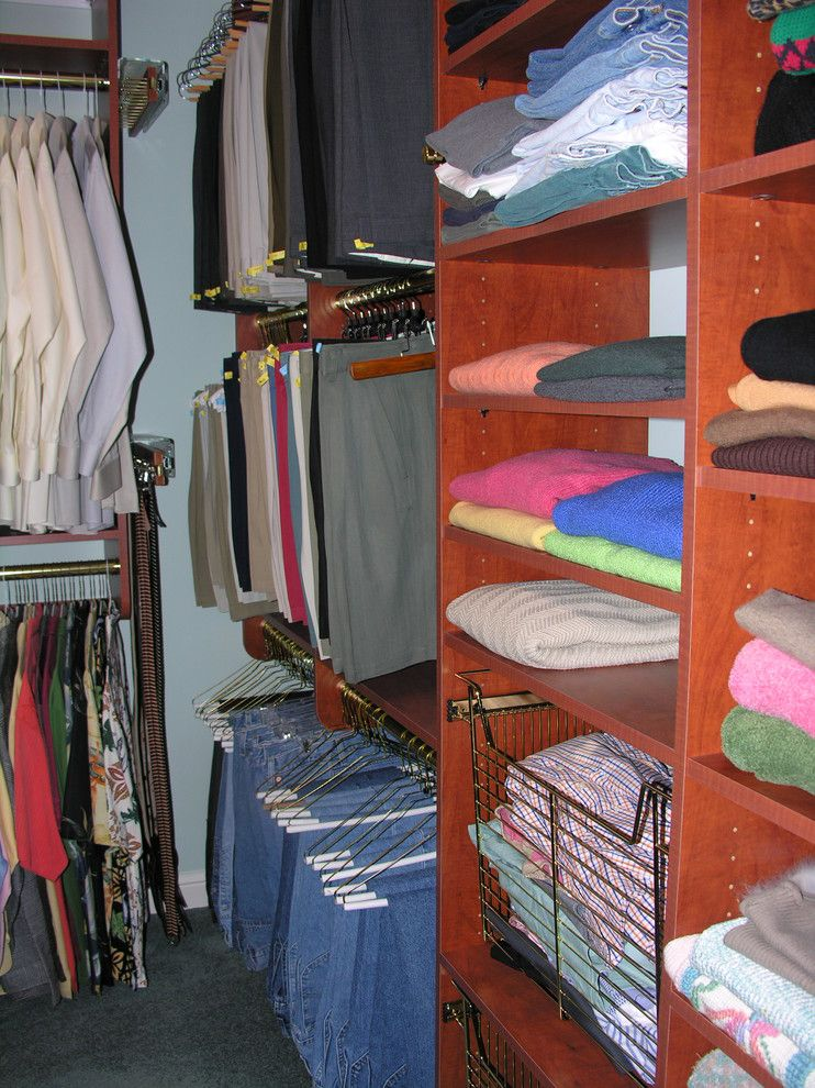 Dogtown St Louis for a Traditional Closet with a Mo and Custom Closet Systems by Beyond Storage