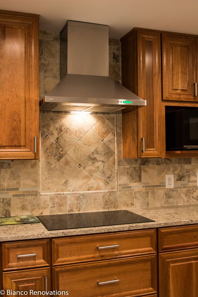 Dominion Electric Va for a Traditional Kitchen with a Granite Countertops and Rear Extension in Alexandria, Va by Bianco Renovations