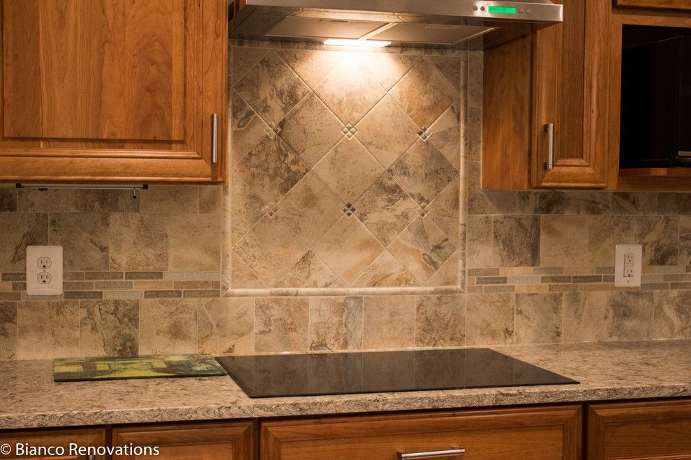 Dominion Electric Va for a Traditional Kitchen with a Wall Mounted Cabinet and Rear Extension in Alexandria, Va by Bianco Renovations
