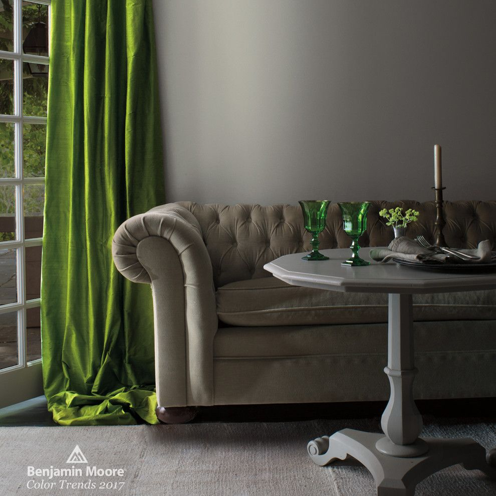 Don Roberto Jewelers for a Contemporary Living Room with a Green Glasses and Benjamin Moore by Benjamin Moore