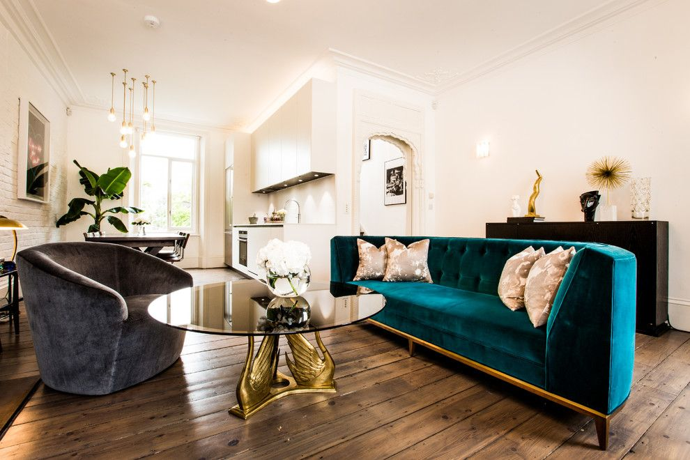 Don Roberto Jewelers for a Midcentury Living Room with a 2014trend and Primrose Hill by Jino Design Ltd