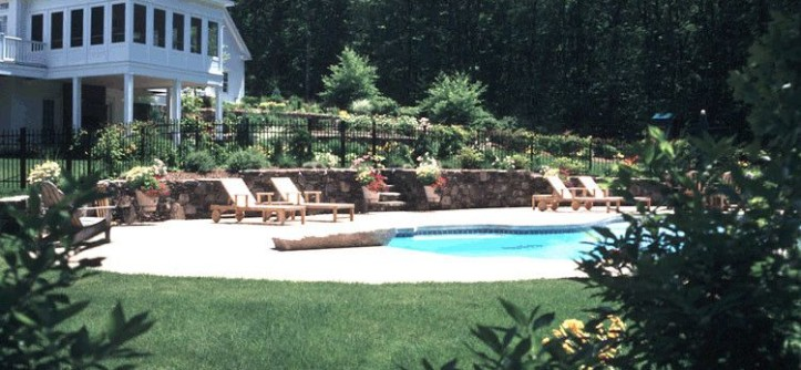 Dover Pools for a Traditional Pool with a Walpole and Swimming Pools by Landscape Oasis LLC