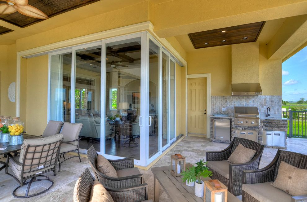 Dr Horton Colorado for a Mediterranean Patio with a Emerald Homes and the Toscana Model at Stonelake Ranch, Thonotosassa by Emerald Homes Tampa